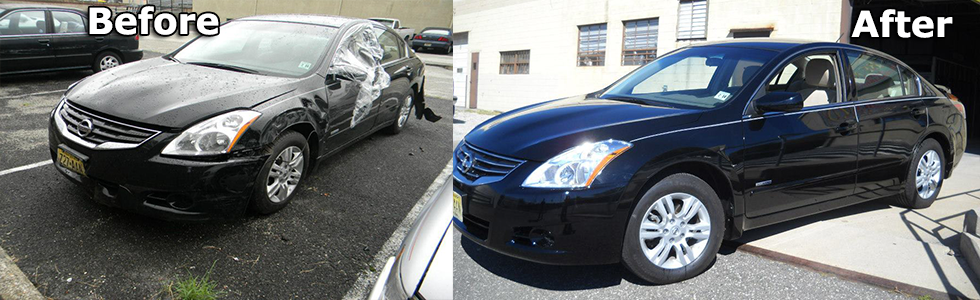 Beacon Auto Body Vehicle Damage Repair Shop Pennsauken NJ